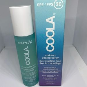 Coola make up setting spray SPF 30